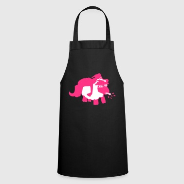 Sheep in wolf fur magenta - Cooking Apron