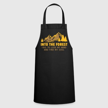 into the forest - Cooking Apron