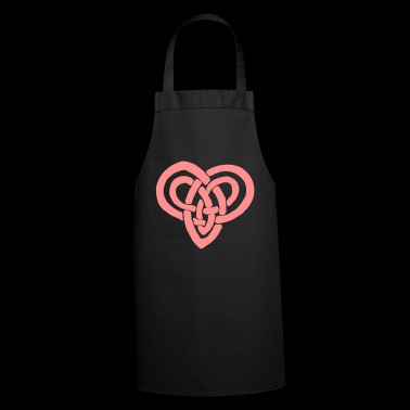 Celtic heart Valentine's Day Eternal bondage - Cooking Apron