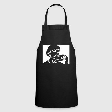 letter - Cooking Apron