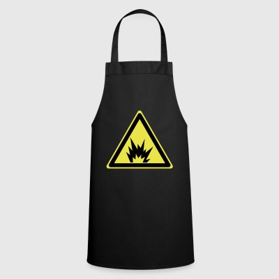 Attention explosive - Tablier de cuisine