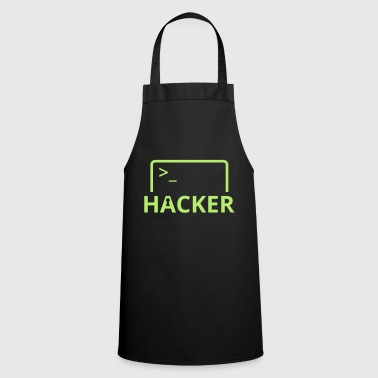 Hacker Internet Informatique pirater informatique - Tablier de cuisine