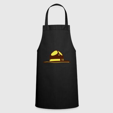 american police hat usa cop 1610 - Cooking Apron