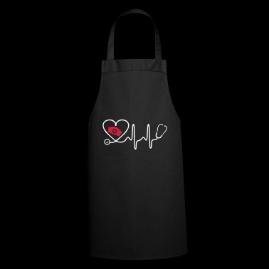 Heart Beat Nurse - Cooking Apron