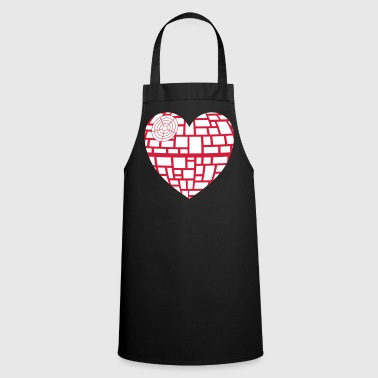 Heart heart vector - Cooking Apron