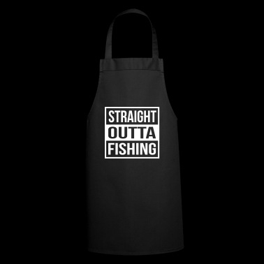Straight Outta Fishing - Delantal de cocina