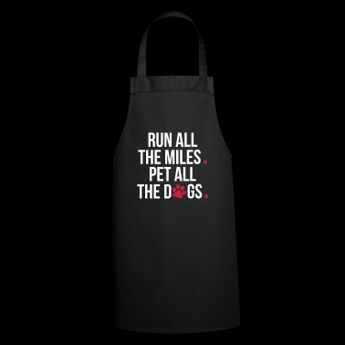 Ejecutar Pet All The Dogs - Delantal de cocina
