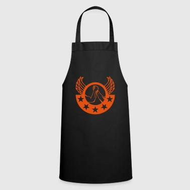 arm wrestling arm iron logo12 - Cooking Apron
