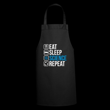 Eat Sleep Science Repeat - Grembiule da cucina