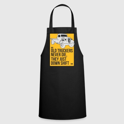 Old truckers - Cooking Apron