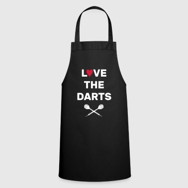 Love The Darts - Kochschürze