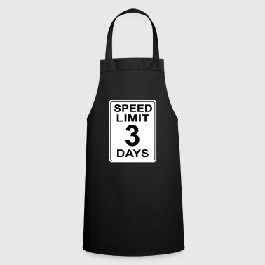 Speedlimit # 2 - Tablier de cuisine