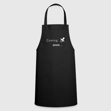 Pregnancy, surprise, baby belly - Cooking Apron