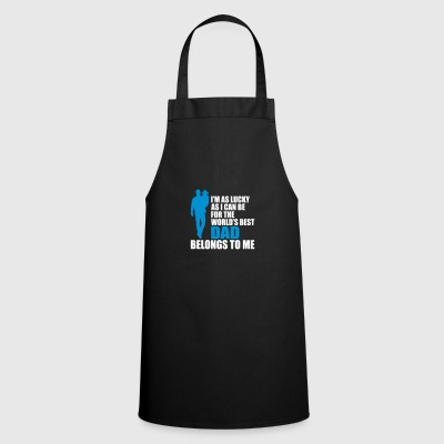 World best dad - fathers day - Cooking Apron