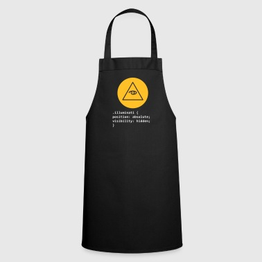 CSS Pun: Illuminati - Cooking Apron