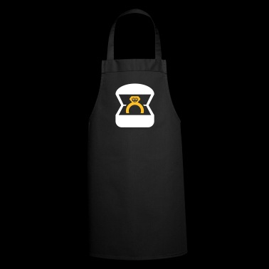 An Engagement Ring / Wedding Ring - Cooking Apron