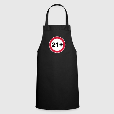21st birthday 21+ - Cooking Apron