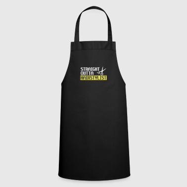 Straight Outta Hairstyle - Cooking Apron