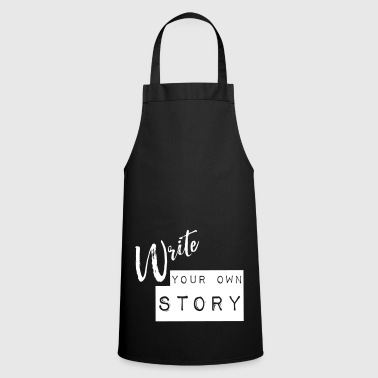 Write your own story Print - Cooking Apron