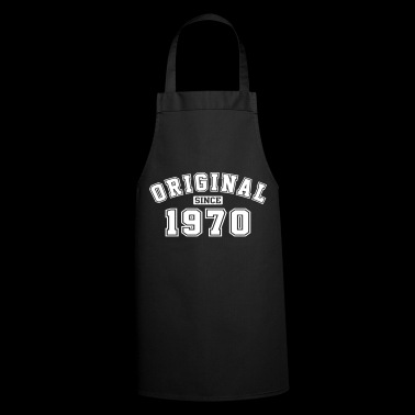 Original Since 1970 Vintage Birthday Birthday - Cooking Apron