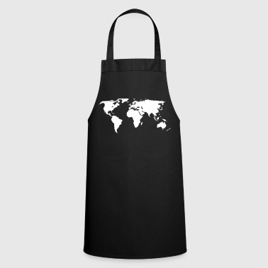 world map - Cooking Apron