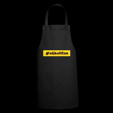 football fan - Cooking Apron
