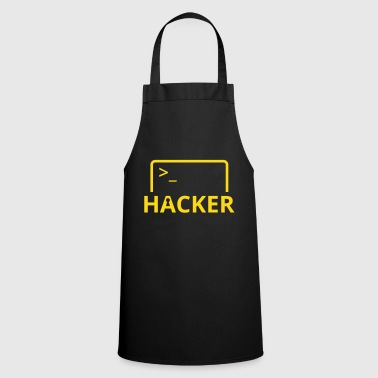 Hackers Internet Computer Science hack computer science - Cooking Apron
