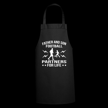 Father And Son Football Partner - Cooking Apron