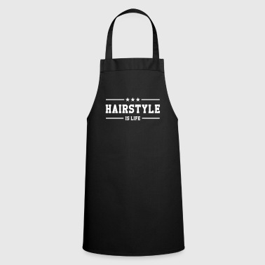 Hairstyle is life - Cooking Apron