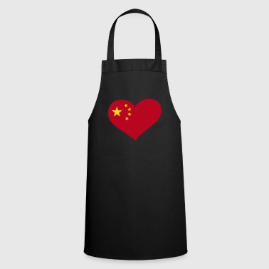 China Herz; Heart China - Cooking Apron