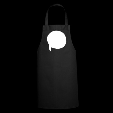 speech bubble - Cooking Apron