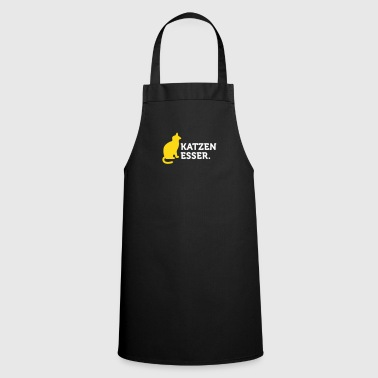 Macho Quotes: I Eat Cats! - Cooking Apron