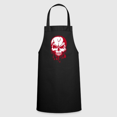 blood task drop skull 280) - Cooking Apron