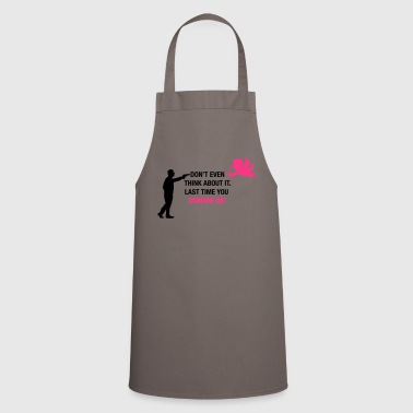 No Cupid! - Cooking Apron