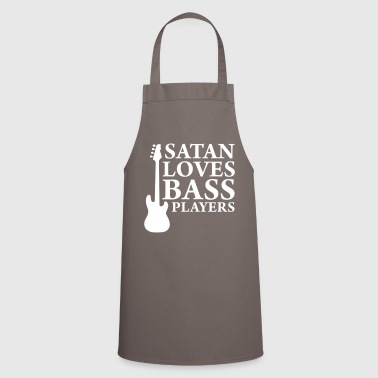 Satan loves bass players - Cooking Apron