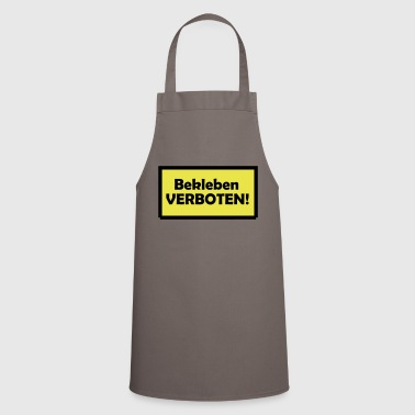 Sticking prohibited! - Cooking Apron