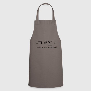 I ate some pie ... and it was delicious! - Cooking Apron