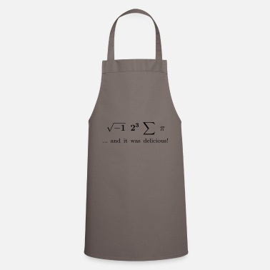 Latex I ate some pie ... and it was delicious! - Cooking Apron
