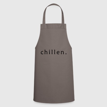 relax. - Cooking Apron
