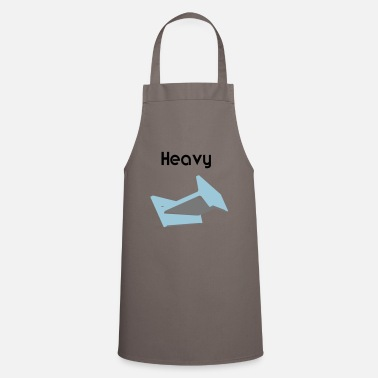 Heavy Heavy heavy metal steel beam - Cooking Apron