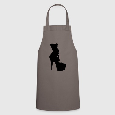 Vector highheels Silhouette - Cooking Apron