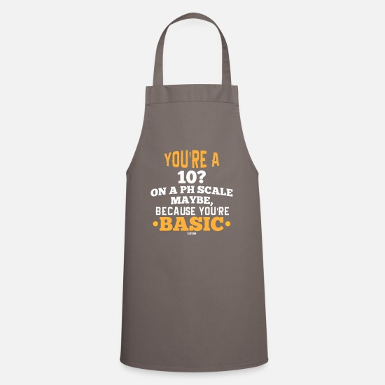 Gift Idea Aprons - Science research saying gift - Apron grey