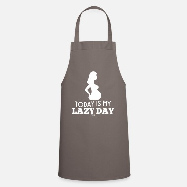 Paresseux Lazy Mom's Day Mother's Day paresseuse femme - Tablier