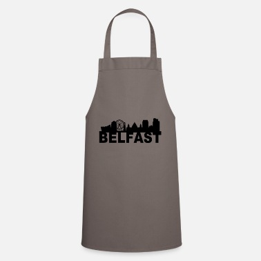 Northern Ireland Belfast Northern Ireland Skyline Gift Idea UK - Cooking Apron