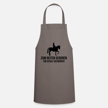 Western Riding horses riding spring riding western riding hobby - Cooking Apron