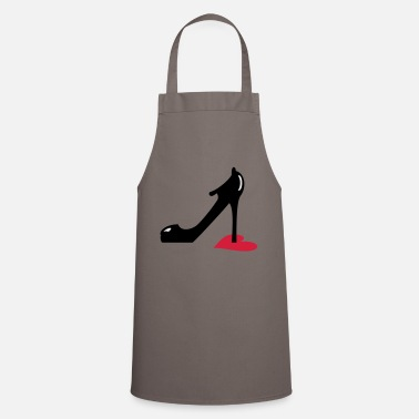 Highheels highheel step on heart (3c) - Apron