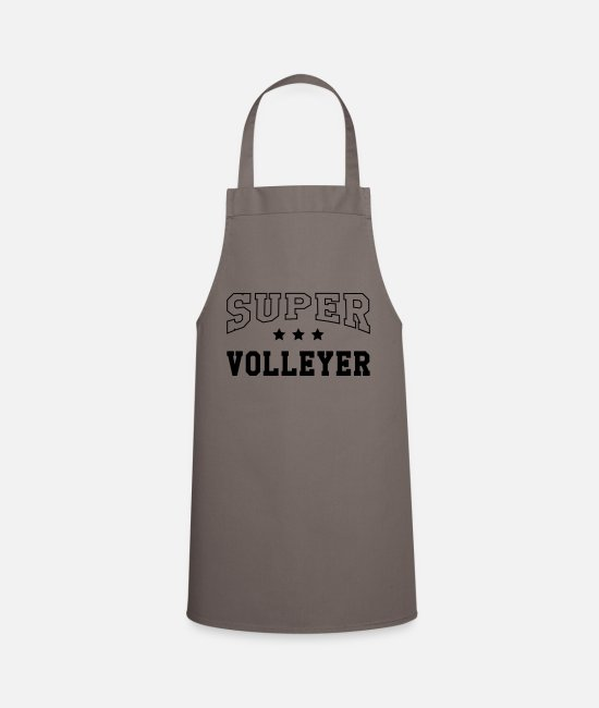 Play Aprons - Super Volleyer - Apron grey