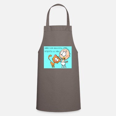 Mascot CHILD AND MASCOT - Cooking Apron