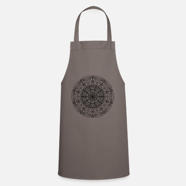 Jewelry Mandala Indian flower gift yoga - Apron