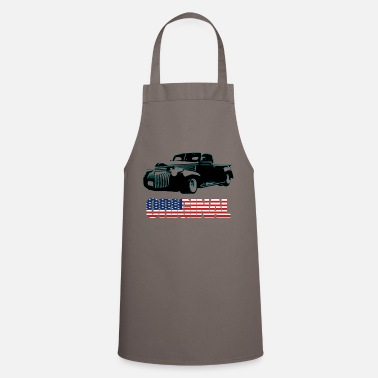 Sportscar Pick-Up in black - Cooking Apron